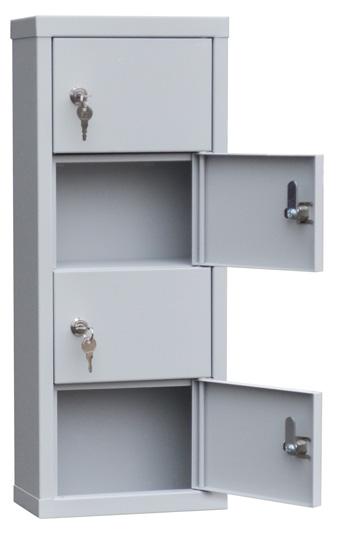 Шкаф для хранения мобильных телефонов на 4 ячейки