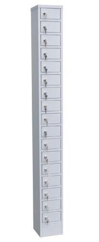 Шкаф для хранения мобильных телефонов  на 17 ячеек