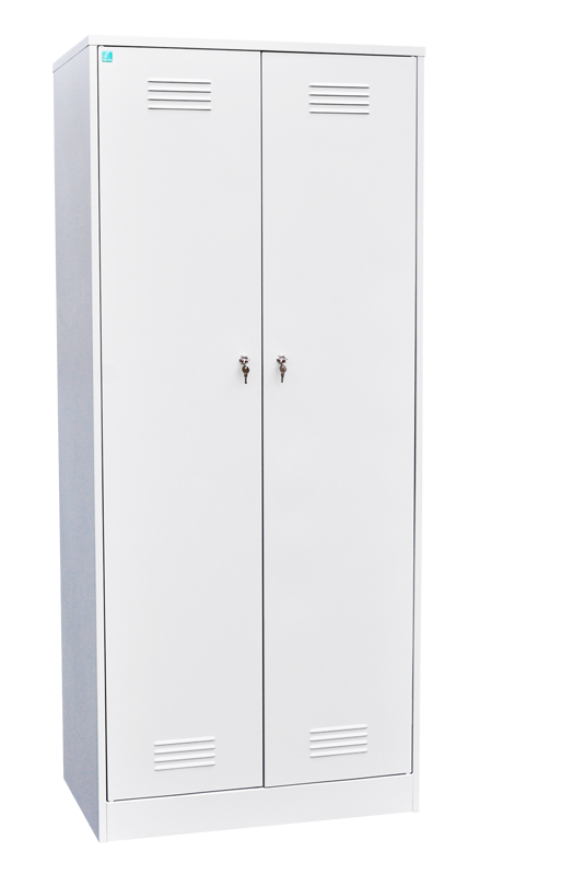 Шкаф для одежды двухстворчатый на 4 отделения