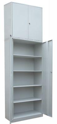 Шкаф для хранения с 4-мя полками с антресолью