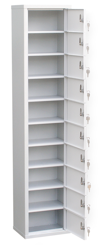 Шкаф-модуль для индивидуального хранения на 10 ячеек (ИШК-10)
