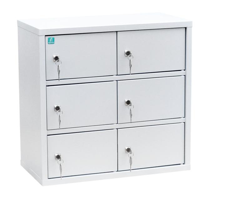 Индивидуальный шкаф кассира на 6 отделений (навесной) (ИШК-6)