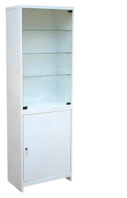 Шкаф медицинский одностворчатый ШМС-1