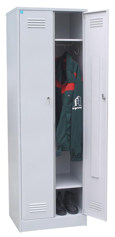 Шкаф для одежды двухстворчатый с полкой под обувь