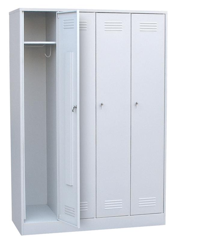 Шкаф для одежды четырехстворчатый сварной